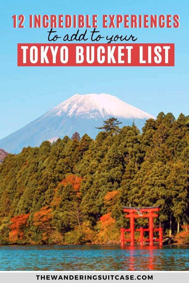 Bucket list experiences Tokyo - pinterest2