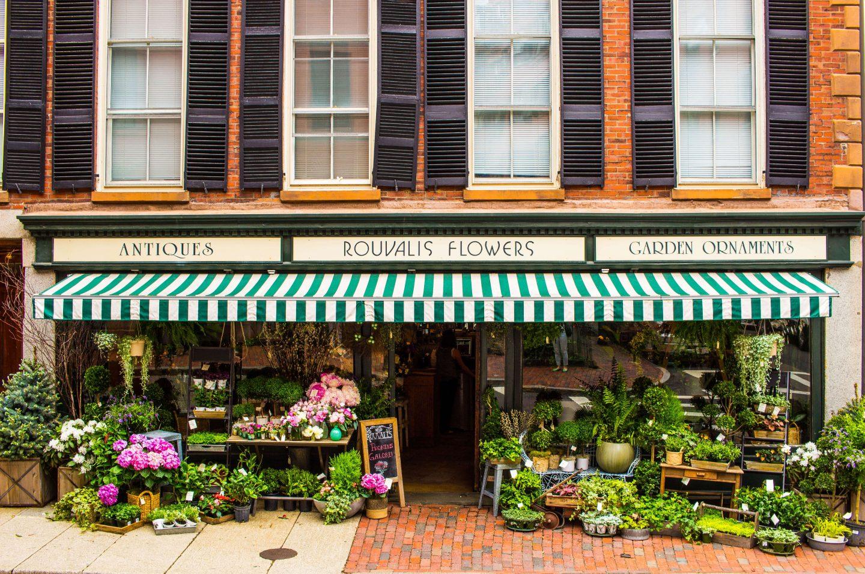 Beacon Hill flower shop
