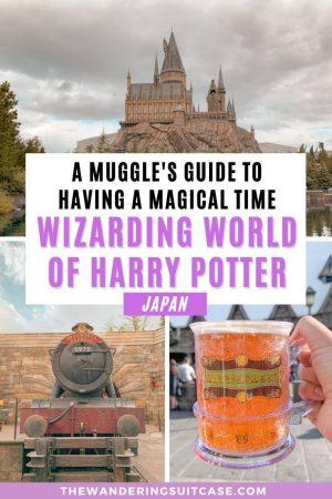 Wizarding World of Harry Potter Universal Studios Osaka Japan