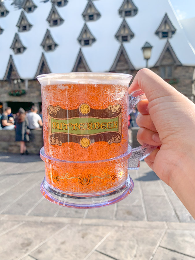 wizarding world harry potter osaka - butterbeer