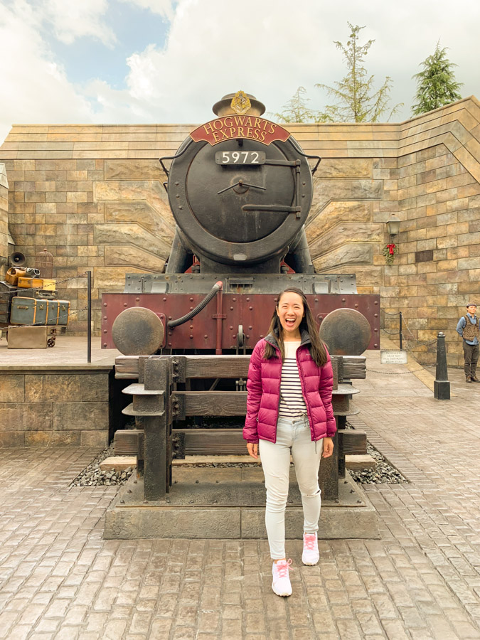 wizarding world harry potter osaka - hogwarts express