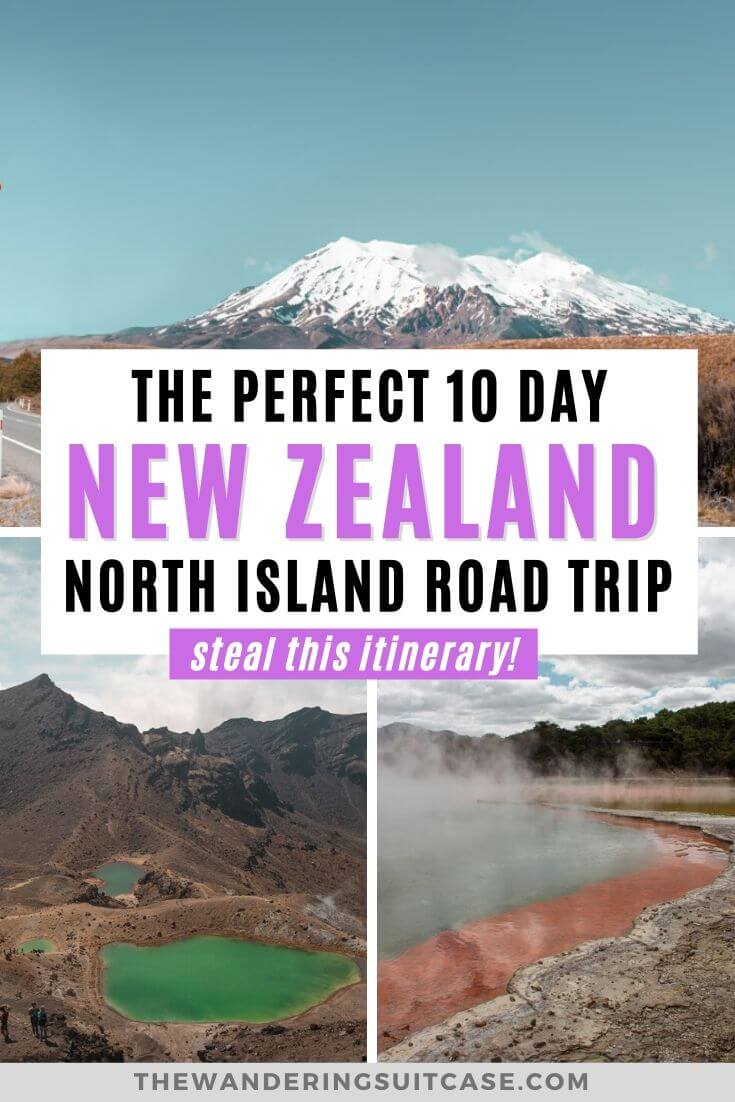 10 day New Zealand North Island Itinerary