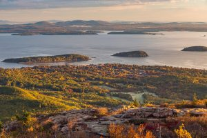 exploring outdoors from inside - acadia national park