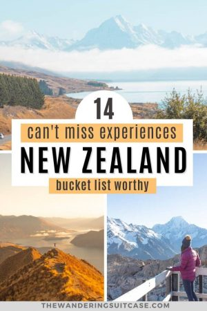 can't miss experiences New Zealand