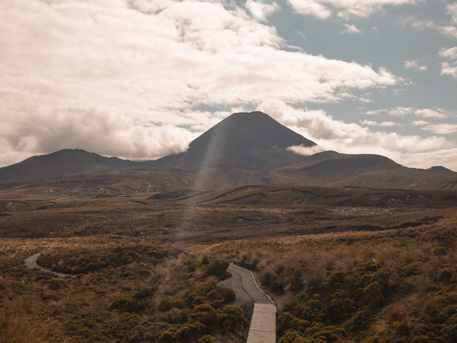 Last day of Tongariro Northern Circuit