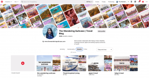 The Wandering Suitcase Pinterest Services