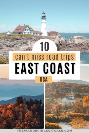 10 can't miss road trips east coast usa