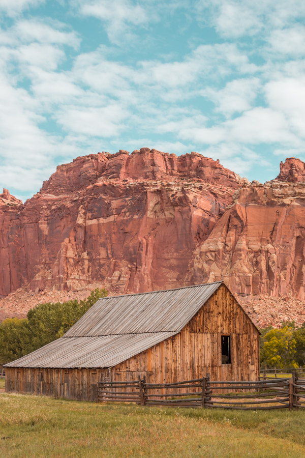 Capitol Reef - Barn of the Gifford Homstead