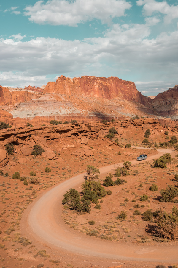 Capitol Reef - Panorama point