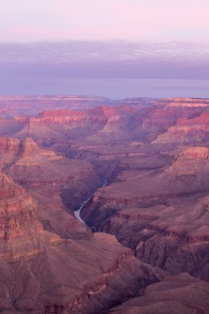 Grand Canyon at golden hour