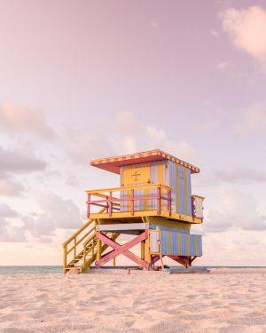 Miami Beach Life Guard Stand