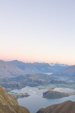 Sunrise at Roys Peak