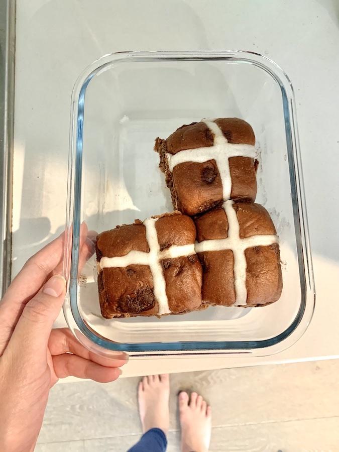 Hotcross buns at home